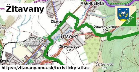 ikona Turistická mapa turisticky-atlas  zitavany