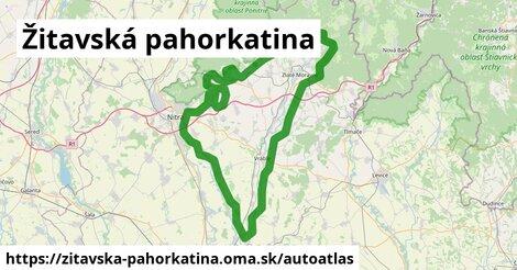 ikona Mapa autoatlas  zitavska-pahorkatina