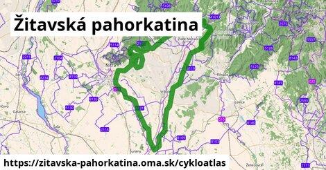 ikona Cykloatlas cykloatlas  zitavska-pahorkatina