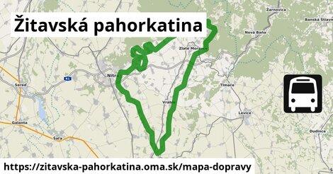 ikona Mapa dopravy mapa-dopravy  zitavska-pahorkatina