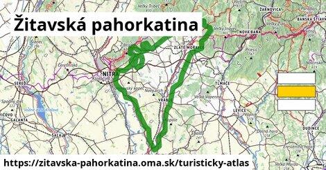 ikona Turistická mapa turisticky-atlas  zitavska-pahorkatina