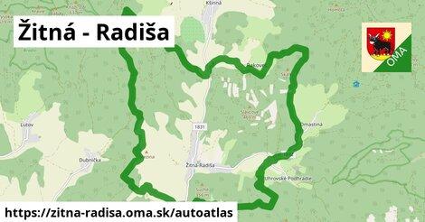 ikona Mapa autoatlas  zitna-radisa