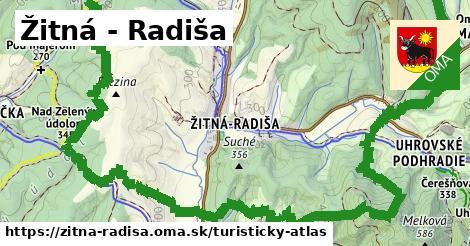 ikona Turistická mapa turisticky-atlas  zitna-radisa