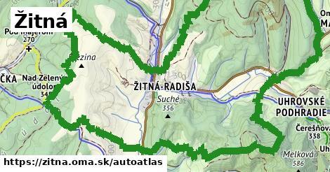 ikona Mapa autoatlas  zitna