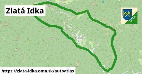 ikona Mapa autoatlas  zlata-idka