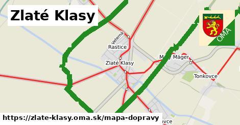 ikona Mapa dopravy mapa-dopravy v zlate-klasy