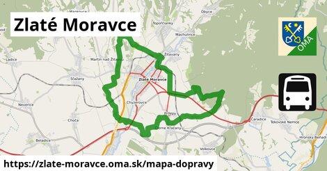 ikona Zlaté Moravce: 33km trás mapa-dopravy  zlate-moravce