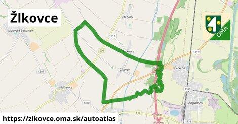 ikona Mapa autoatlas  zlkovce