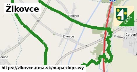 ikona Mapa dopravy mapa-dopravy  zlkovce