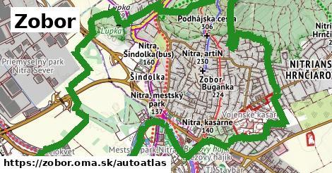 ikona Mapa autoatlas  zobor