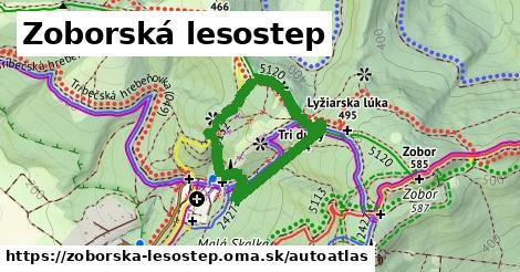 ikona Mapa autoatlas  zoborska-lesostep