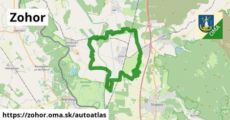 ikona Mapa autoatlas  zohor