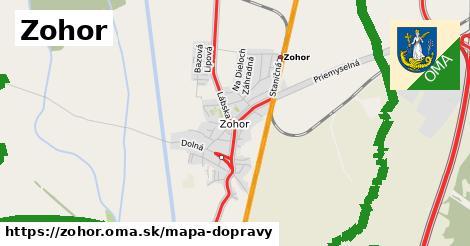 ikona Mapa dopravy mapa-dopravy v zohor
