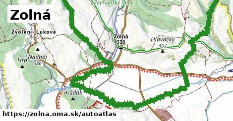 ikona Mapa autoatlas  zolna
