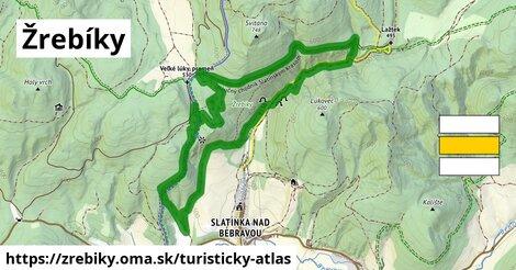 ikona Turistická mapa turisticky-atlas  zrebiky