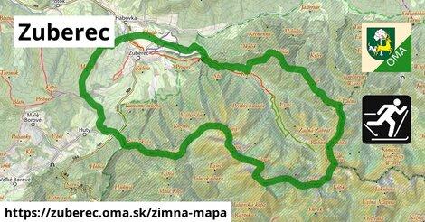 ikona Zuberec: 33km trás zimna-mapa  zuberec