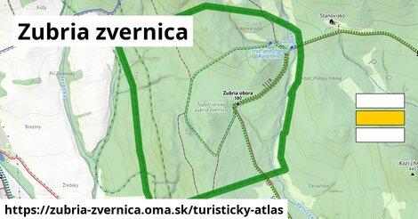 ikona Turistická mapa turisticky-atlas  zubria-zvernica