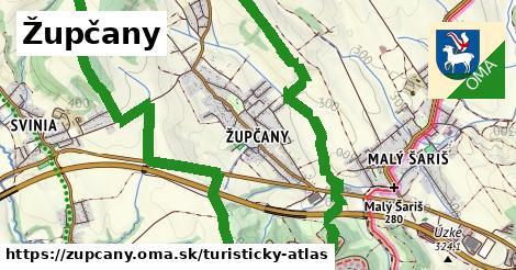ikona Turistická mapa turisticky-atlas v zupcany