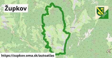 ikona Mapa autoatlas  zupkov