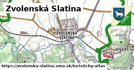ikona Turistická mapa turisticky-atlas  zvolenska-slatina