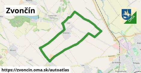 ikona Mapa autoatlas  zvoncin