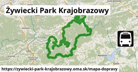 ikona Mapa dopravy mapa-dopravy  zywiecki-park-krajobrazowy
