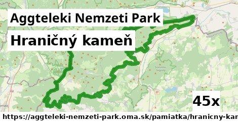 ilustračný obrázok k Hraničný kameň, Aggteleki Nemzeti Park