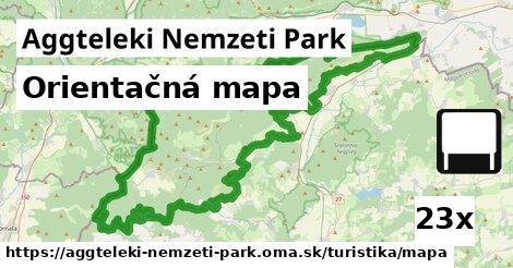 ilustračný obrázok k Orientačná mapa, Aggteleki Nemzeti Park
