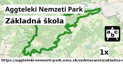 ilustračný obrázok k Základná škola, Aggteleki Nemzeti Park