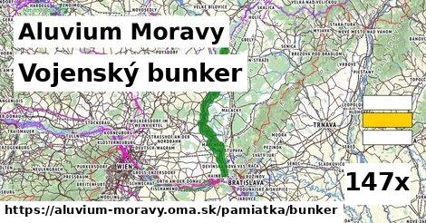 ilustračný obrázok k Vojenský bunker, Aluvium Moravy