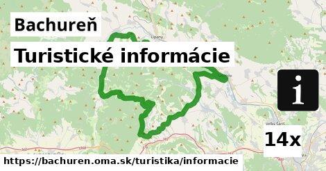 ilustračný obrázok k Turistické informácie, Bachureň