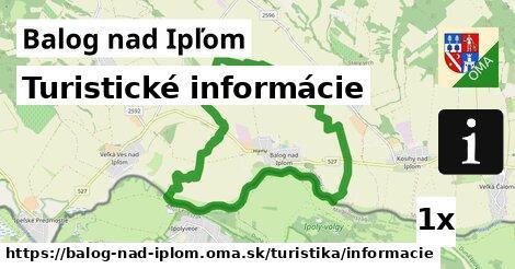 turistické informácie v Balog nad Ipľom