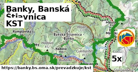 KST v Banky, Banská Štiavnica
