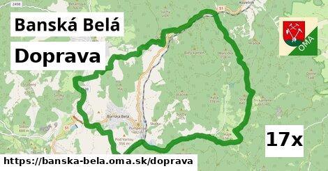 doprava v Banská Belá