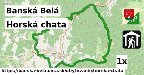 horská chata v Banská Belá