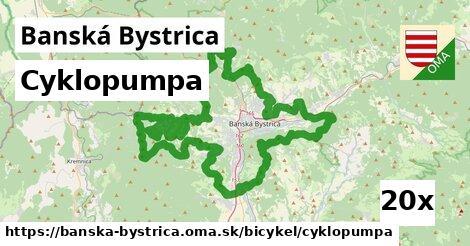 cyklopumpa v Banská Bystrica