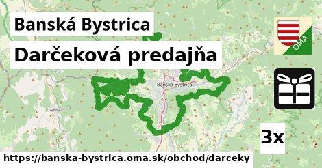 darčeková predajňa v Banská Bystrica