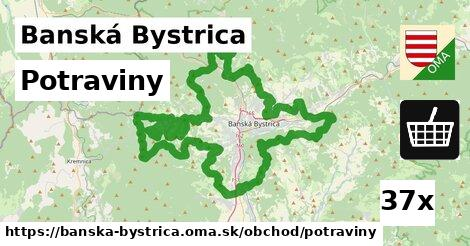 ilustračný obrázok k Potraviny, Banská Bystrica