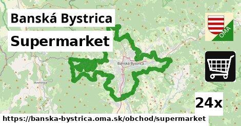 ilustračný obrázok k Supermarket, Banská Bystrica