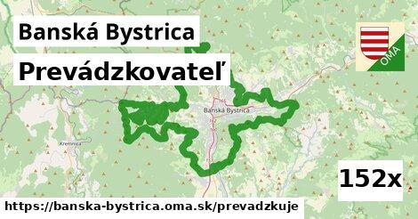 prevádzkovateľ v Banská Bystrica