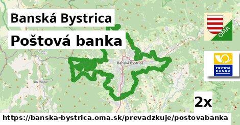 Poštová banka v Banská Bystrica