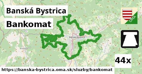 bankomat v Banská Bystrica