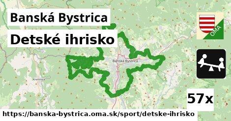 ilustračný obrázok k Detské ihrisko, Banská Bystrica