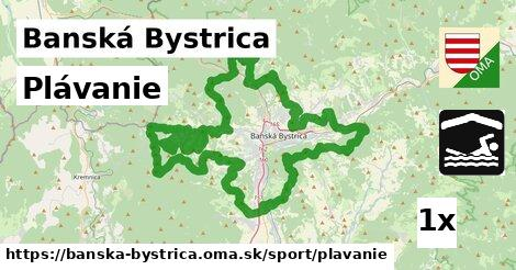 ilustračný obrázok k Plávanie, Banská Bystrica