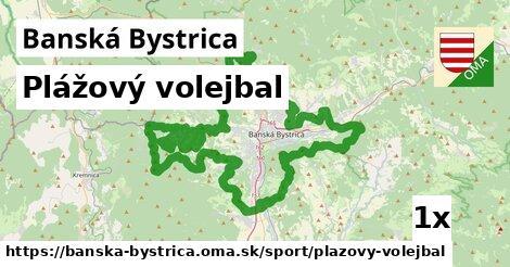 ilustračný obrázok k Plážový volejbal, Banská Bystrica