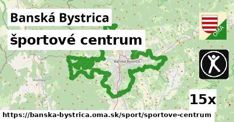 ilustračný obrázok k športové centrum, Banská Bystrica