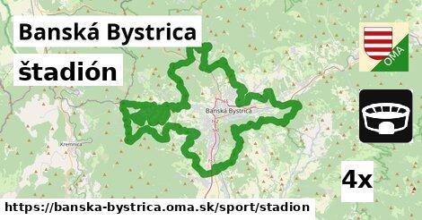 štadión v Banská Bystrica