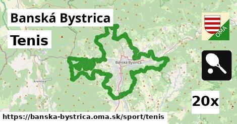 ilustračný obrázok k Tenis, Banská Bystrica