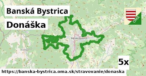donáška v Banská Bystrica