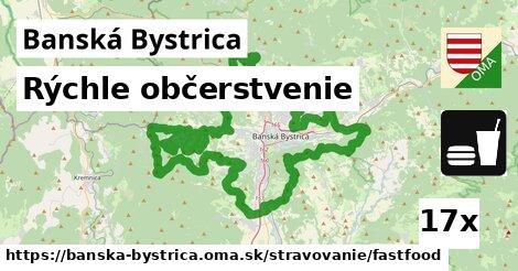 ilustračný obrázok k Rýchle občerstvenie, Banská Bystrica